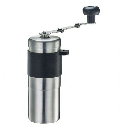 Sale Tiamo Mini Ceramic Burr Grinder - Black